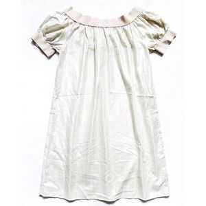 NEW Shiny Lurex Elastic Neck/Off Shoulder Dress P